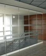 Cloison vitrée de bureau - Cloison mobile vitrée pour bureau – Pose rapide