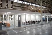 Cloison vitrée industrielle - Aménagement de l'espace