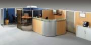 Cloisonnette avec kit de montage multidirectionnel - Cloison pour bureau