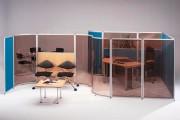 Cloisonnette avec kit multidirectionnel - Cloison pour bureau