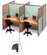 Cloisonnette bureau avec kit de montage - Cloison pour bureau