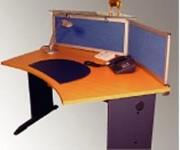 Cloisonnette pour table ou bureau - Plateaux des bureaux