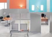 Cloisons modulaires de bureau - Composées de mousse de cellulose compressée à 260 kg/m3