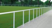 Clôture à main courante stade - Tube Ø 60 mm, épaisseur 2 mm