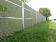 Clôture anti-bruit - Dimensions (LxHxE) cm : de 200 x 90 x 11 à 300 x 60 x 11