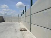 Clôture béton anti intrusion - Deux épaisseurs 15 et 20 cm