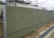 Clôture bois acoustique - Hauteur modulable par panneau de 60 cm (0,60 à 6 m)