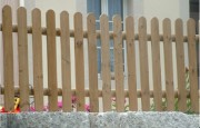 Clôture bois en planchette - Hauteur (cm) : 60 - 80 - 100 - 120