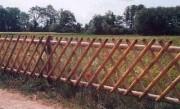 Cloture croisée - Barrière réf 6-600,6-601