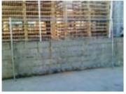 Clôture de chantier 4 tubes - Clôture de chantier 4 tubes en métal galvanisé