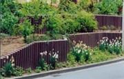 Clôture de jardin en rondins - Diamètre : De 6 à 20 cm - Longueur : De 40 à 280 cm