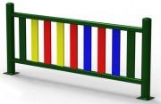 Clôture de protection pour aire de jeux - Dimensions (L x H) mm : 2020 x 60