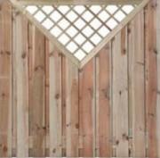 Clôture en bois pin - Brises vue / Clostra en pin sylvestre sans noeuds traité autoclave classe 4
