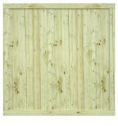 Clôture en bois traité - Traité CL4 vert
