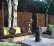 Cloture naturelle pour jardin