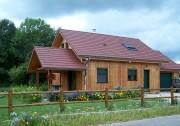 Clôture poteau bois - Longueur (m) : 2