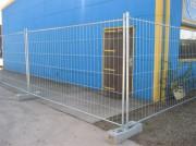 Clôtures de chantier à cadres - Clôtures mobiles