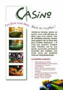 Cocktail dinatoire casino - Le casino