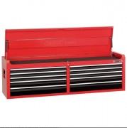 Coffre à outils 10 tiroirs - Dimensions 1625 x 410 x 495mm  -  Équipé d'un système de verrouillage sécurisé