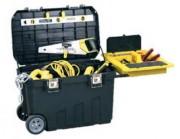 Coffre à outils de chantier - Dimensions (LxHxP) cm : 76.8 x 49 x 47.6