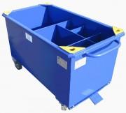 Coffre à outils pour bancheur - Charge : 500 Kg