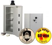 Coffre anti feu - De 60 à 120 minutes de résistance au feu selon le modèle