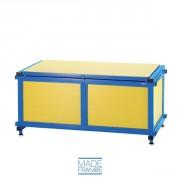 Coffre banc pour piscine - Dimensions (L x l x h) : 150 x 60 x 50 cm