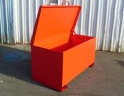Coffre de chantier métallique - Ensemble mécano-soudé ép. 3 mm