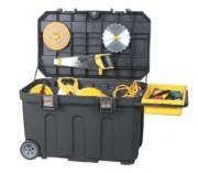 Coffre de chantier professionnel - Dimensions (LxHxP) cm : 96.2 x 59.1 x 57.8