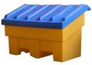 Coffre de rangement à sel - Capacité : 300 Litres - En PEHD
