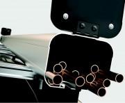 Coffre de rangement en aluminium anodisé - A fixer sur galerie ou barre de toit existantes
