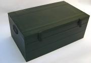Coffre de transport métallique - Dimension souhaitée jusqu'à 1,80 m de long