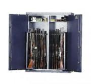 Coffre-fort pour fusils - Capacité : 34 Fusils - Epaisseur porte : 100 mm