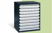 Coffre tiroirs pour charge lourde - Dimensions intérieures des tiroirs : L 700 x P 600 mm