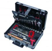 Coffret à outils aluminium - Capacité : 149 Pièces