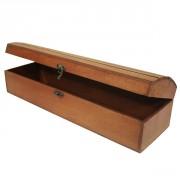 Coffret cadeaux en bois pour bouteilles - Dimension (cm) : 44 x 13.5 x 11