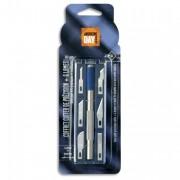 Coffret cutter de précision 14cm et 6 lames assorties 409038 - Safetool