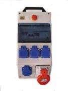 Coffret de distribution d'énergie portable - Nombre de prises : 5