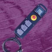 Coffret de sécurité électrique de chantier - 3 prises et un arrêt d'urgence
