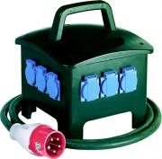 Coffret électrique de chantier - Nombre de prises : 6