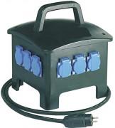 Coffret électrique de chantier portable - Nombre de prises : 6