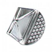 Coin de lettres en aluminium blanc, boîte de 100 - Maped