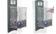 Collecteur à piles recyclable - Volume : 10 L env