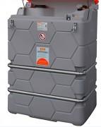 Collecteur d'huile usagée 1000 L pour intérieur - Double paroi PE - Avec capot de protection