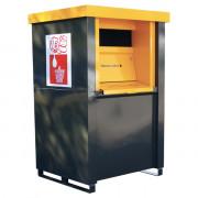 Collecteur d'huile usagée 1500 Litres - Capacité totale : 1000 ou 1500 L