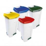 Collecteur de déchets à pédale - Capacité (L) : 106