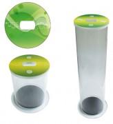 Collecteur de pile en acrylique - De 15 à 50 L