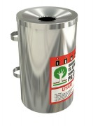 Collecteur de piles design - Contenance : 10 litres - Piles usagées