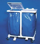 Collecteur de sacs à déchets - Nombre de sacs: 2