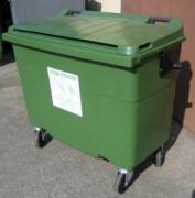 Collecteur déchet à 4 roues - 1A500